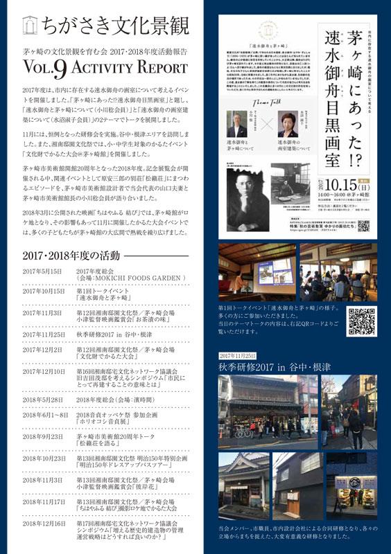 茅ヶ崎の文化景観を育む会_アクティビティレポート2019